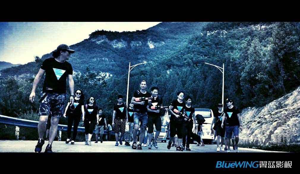 翼蓝是一个有情怀的团队